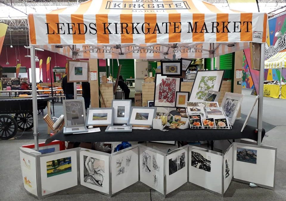 Leeds Kirkgate Markets      Art Fayre.